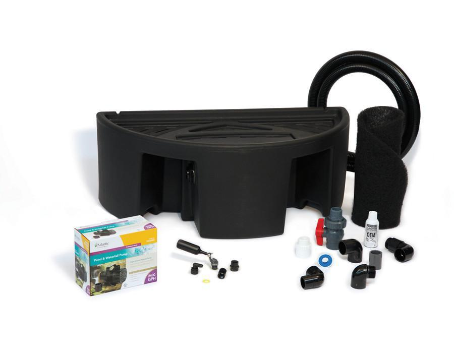 Atlantic Water Gardens Colorfalls Basin Basin & Pump Kit for 24 Inch Spillways Atlantic Water Gardens Basin & Pump Kit for Spillways
