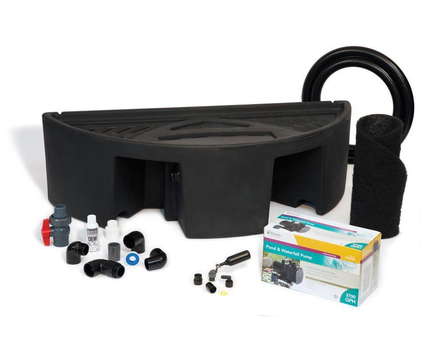 Atlantic Water Gardens Colorfalls Basin Basin & Pump Kit for 36 Inch Spillways Atlantic Water Gardens Basin & Pump Kit for Spillways