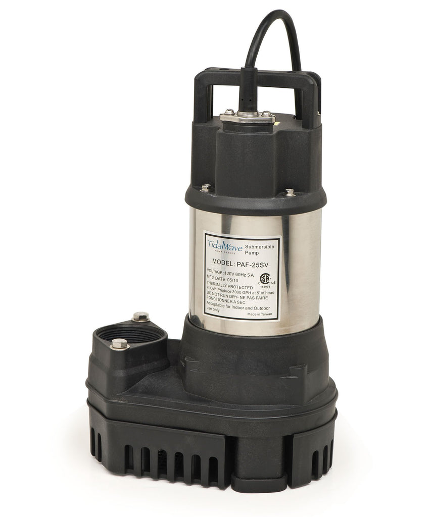 Atlantic Water Gardens Pumps 1/3HP Atlantic Water Gardens TidalWave PAF Pumps