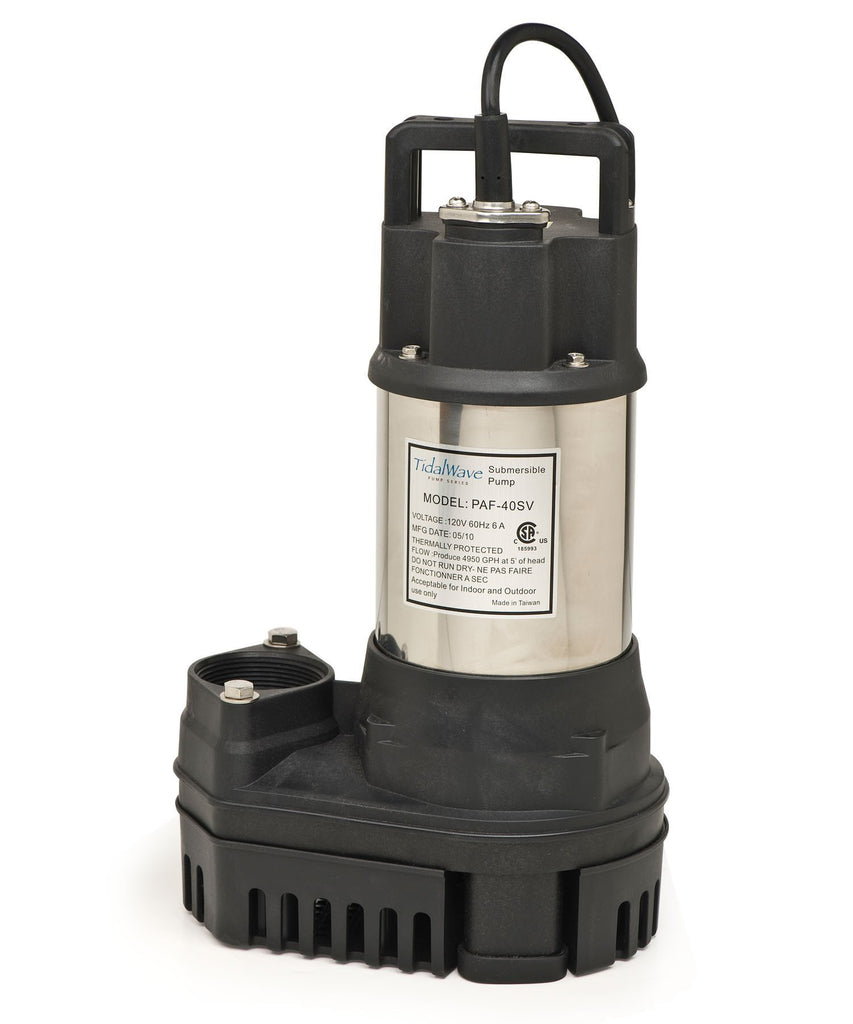 Atlantic Water Gardens Pumps 1/2HP Atlantic Water Gardens TidalWave PAF Pumps