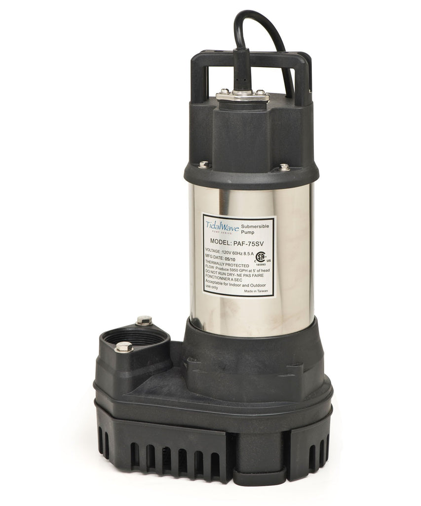 Atlantic Water Gardens Pumps 1HP Atlantic Water Gardens TidalWave PAF Pumps