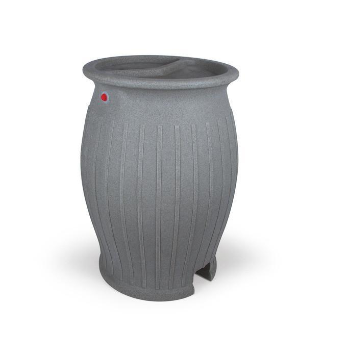 Atlantic Water Gardens Rain Harvesting 110 gallon Full Rain Barrel Atlantic Water Gardens 55 & 110 Gallon Rain Barrel
