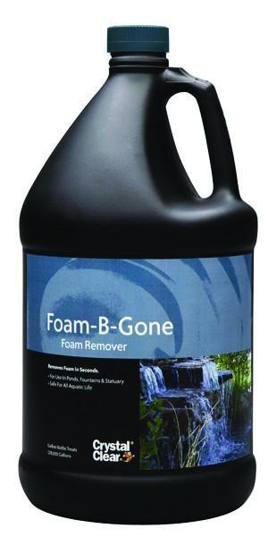 Crystal Clear Water Treatments Foam-B-Gone 1 Gal Crystal Clear Foam-B-Gone