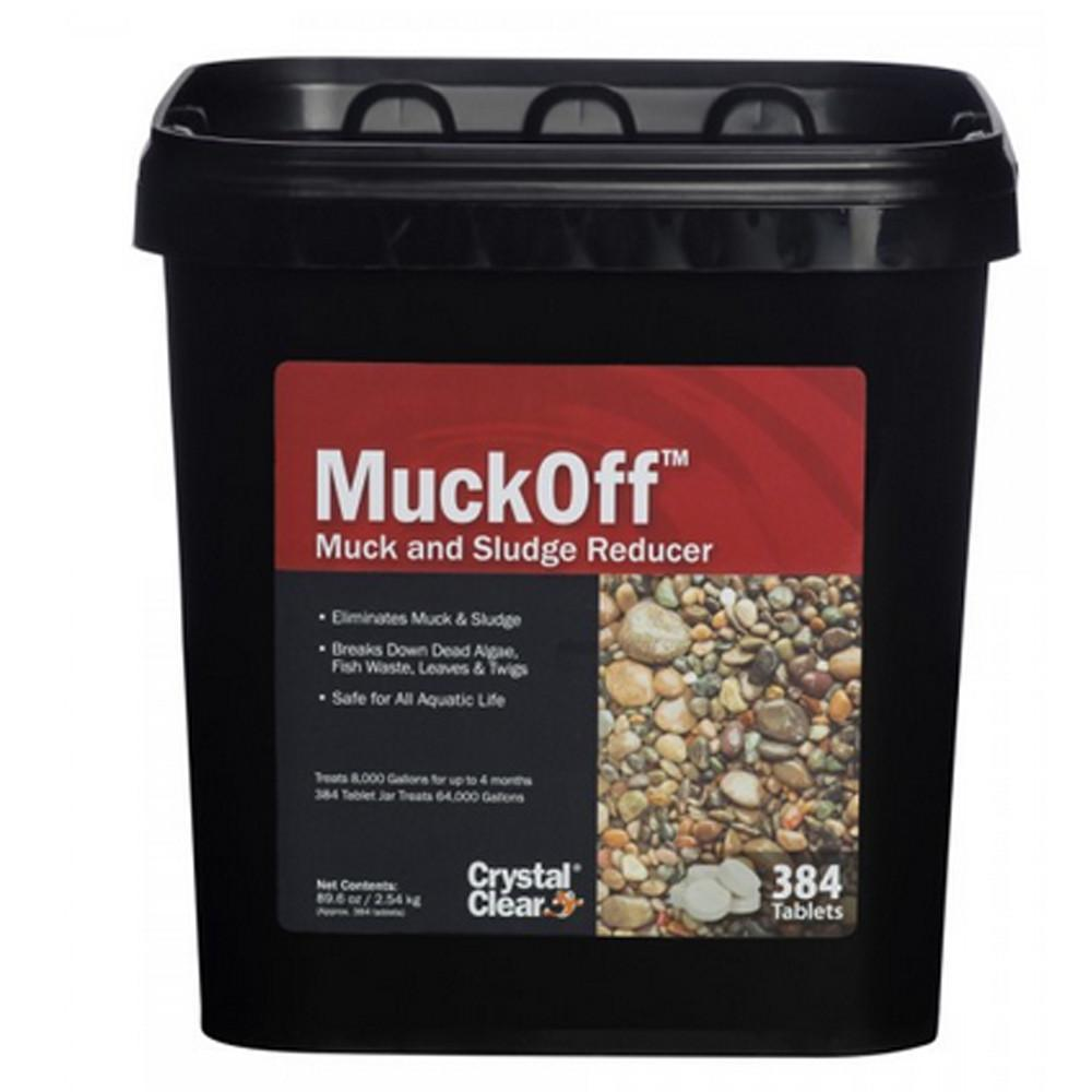 Crystal Clear Water Treatments MuckOff - 384 ct Crystal Clear MuckOff