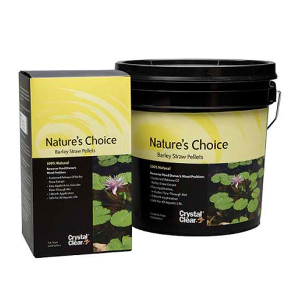 Crystal Clear Water Treatments Nature Fts Choice 2# Crystal Clear Nature's Choice Barley Pellets