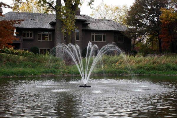 Kasco Fountains & Pond Decor 1HP JF Fountain (50 Ft) Kasco 1HP Fountain 4400JF Series