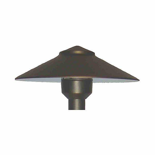 Universal Lighting Pond Lighting/Foggers 7.5 Inch x 2.5 Inch Simple Brass Shade w/ Hub Universal Lighting Universal Shade - Brass