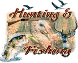 Hunting&Fishing  Stickers
