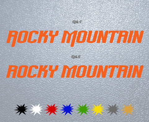 Rocky Montain Sticker (x1)
