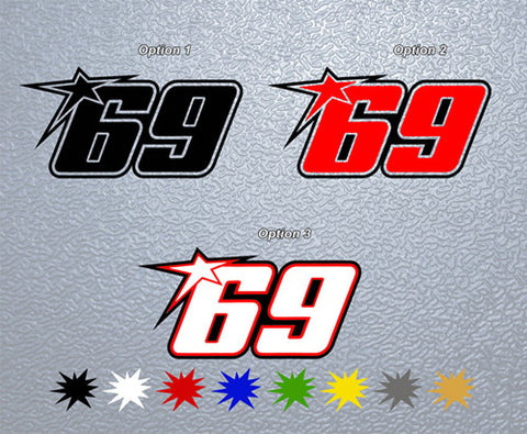 69 KentuckyKid Sticker (x1)