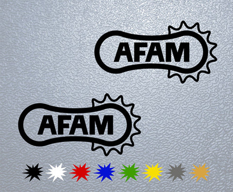 AFAM Logo Sticker (x2)