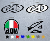 AGV Logo Sticker