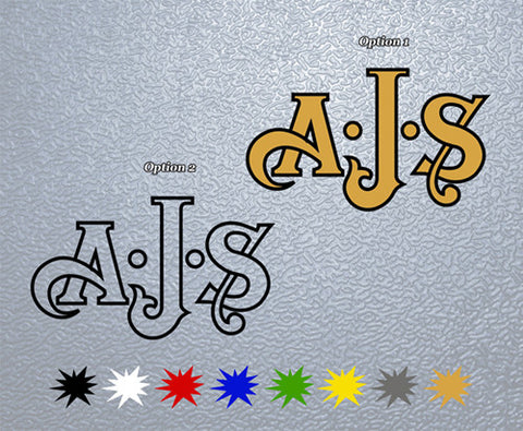 AJS Motorcycles Logo Sticker (x1)
