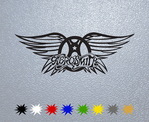 Aerosmith Logo Sticker (x1)