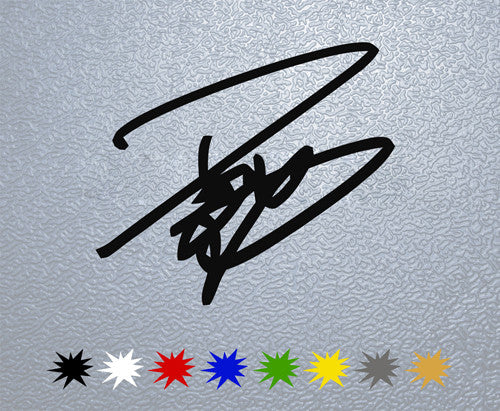 Andrea Dovizioso Signature Sticker