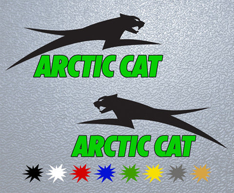 Arctic Cat Sticker (Set)