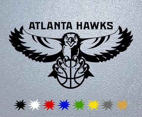 Atlanta Hawks Sticker (x1)