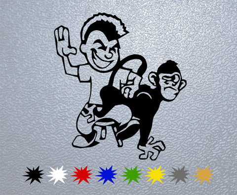 Bad Monkey Sticker (x1)