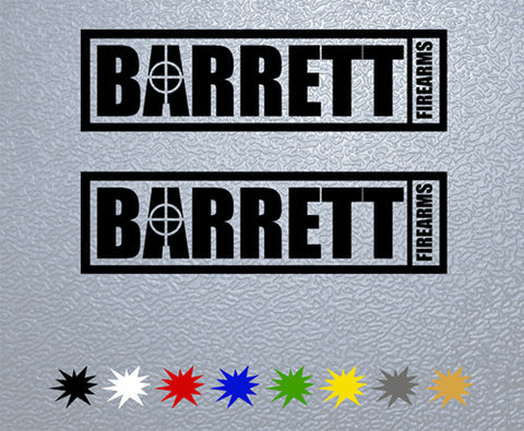 Barrett Sticker (x2)