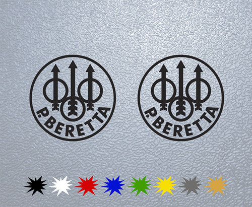 Beretta Logo Sticker