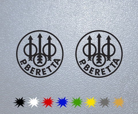 Beretta Sticker (x2)