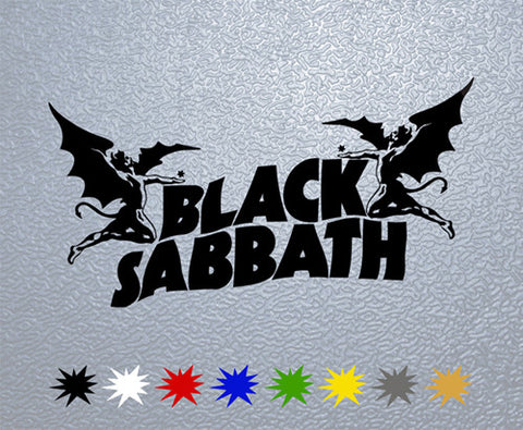 Black Sabbath Sticker (x1)