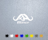 Blaser R8 Buffalo Sticker