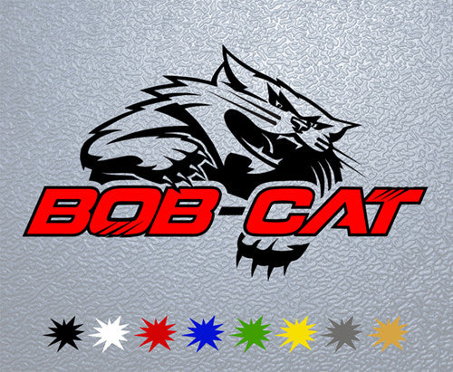 Bob-Cat Logo Sticker