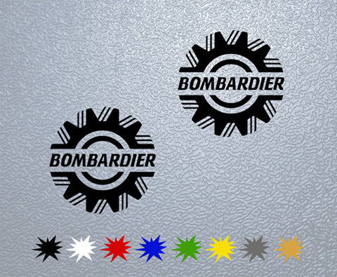 Bombardier Sticker (x2)