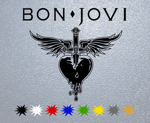 Bon Jovi Sticker (x1)