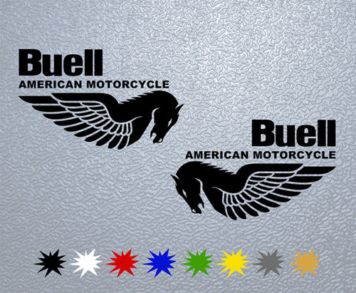 Buell American Motorcycle Logo Sticker