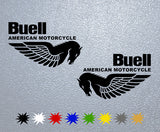 Buell American Motorcycle Sticker