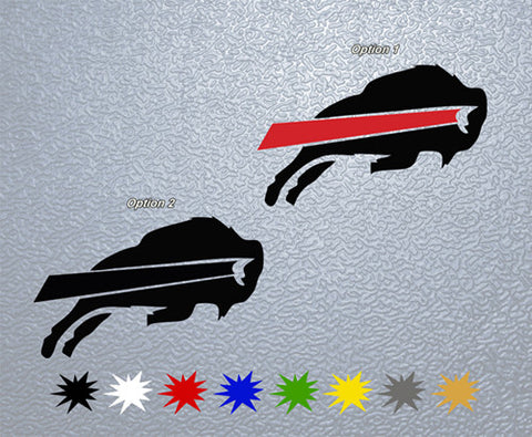 Buffalo Bills Logo Sticker (x1)