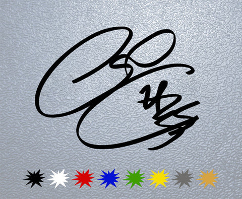 Cal Crutchlow Signature Sticker (x1)