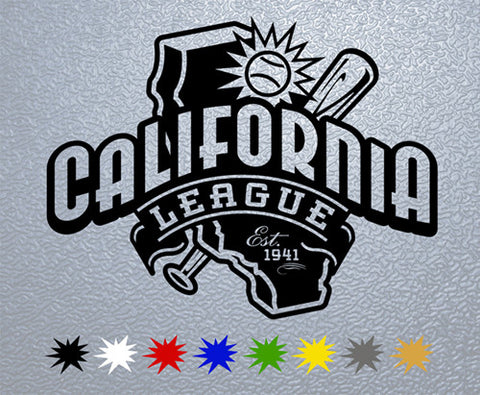 California League Sticker (x1)