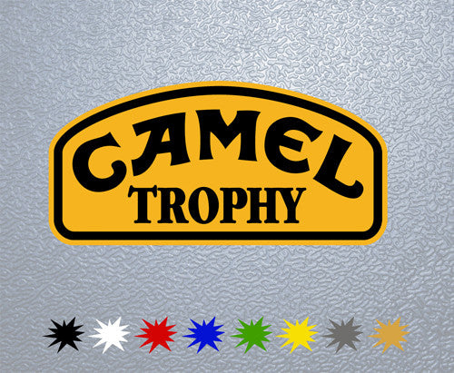 Camel Tropfy #1 Sticker