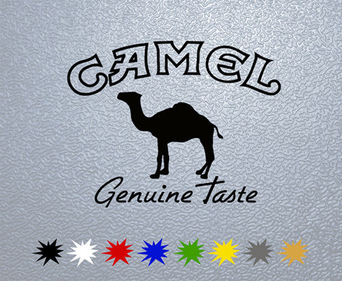 Camel Logo Sticker