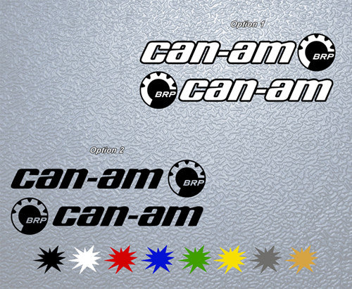 Can Am Logo Sticker