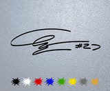Casey Stoner Signature Sticker