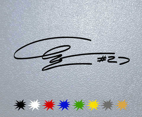 Casey Stoner Signature Sticker (x1)