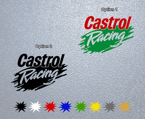 Castrol Racing Sticker (x1)
