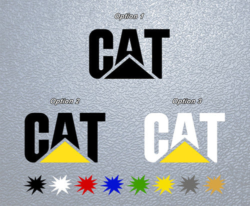 Caterpillar Logo Sticker