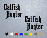Catfish Hunter Sticker