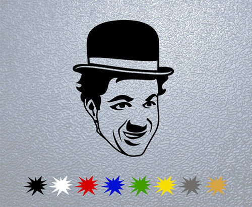 Charlie Chaplin Face Sticker