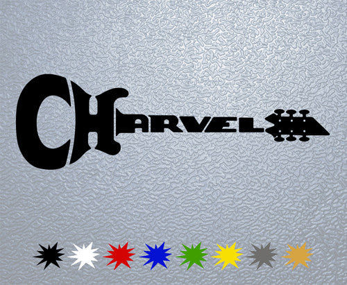 Charvel Guitars Sticker