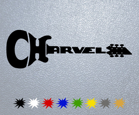 Charvel Guitars Logo Sticker (x1)