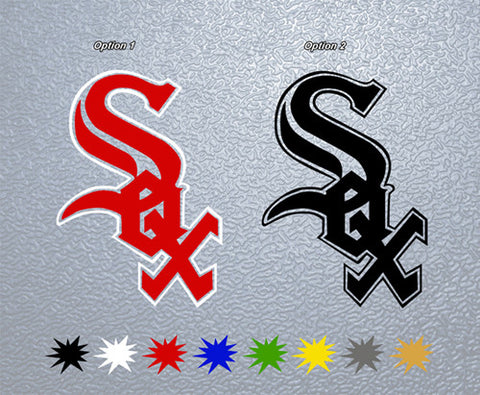 Chicago White Sox Sticker (x1)