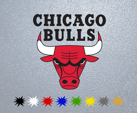 Chicago Bulls Sticker (x1)