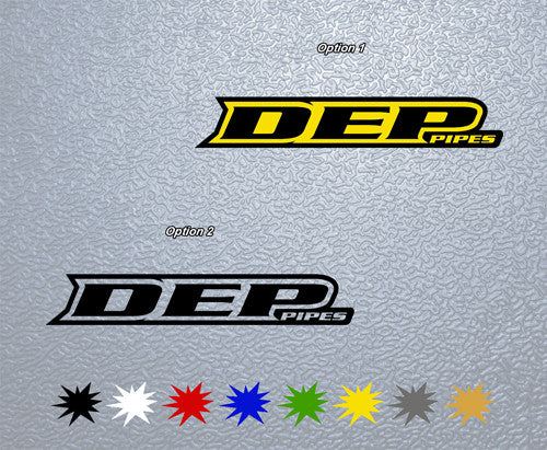 DEP Pipes Sticker