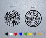 DGR Ride Dapper logo Sticker